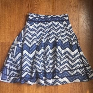 H&M women's flare skirt